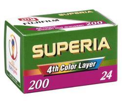 Fuji Superia 200 / 135-24 Kleinbildfilm