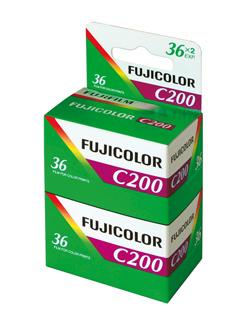 Fujicolor 200 135-36 im 2er Pack (MHD bis 11/2012)