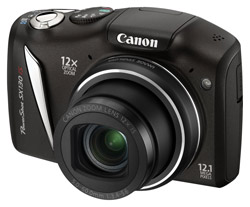 Canon PowerShot SX 130 IS Schwarz Digitalkamera