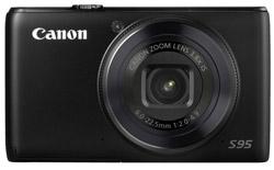 Canon PowerShot S 95 Schwarz Digitalkamera