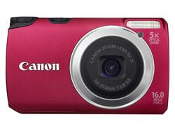 Canon Powershot A3300 IS Rot Digitalkamera