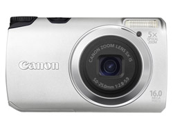 Canon Powershot A3300 IS Silber Digitalkamera