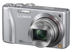 Panasonic DMC-TZ 18 Silber Superzoom Digitalkamera