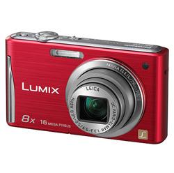 Panasonic DMC-FS 35 Rot Digitalkamera