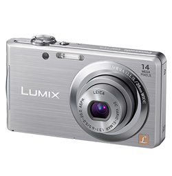 Panasonic DMC-FS 16 Silber Digitalkamera