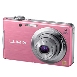 Panasonic DMC-FS 16 Pink Digitalkamera