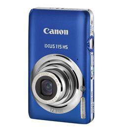 Canon Ixus 115 HS Blau Digitalkamera