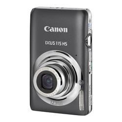 Canon Ixus 115 HS Grau Digitallkamera