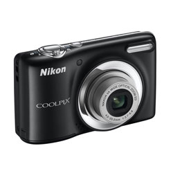 Nikon Coolpix L25 Schwarz Digitale Kompaktkamera Kit