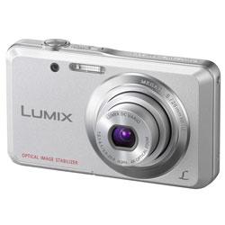 Panasonic DMC-FS 28EG silber Digitalkamera