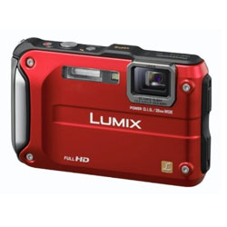 Panasonic FT 3 EG rot digitale Kompaktkamera