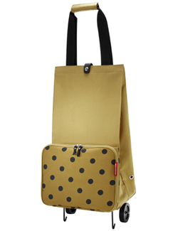 Reisenthel Foldabletrolley camel dots