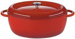 Elektropoint24 La Cuisine Bratentopf oval, bordeaux