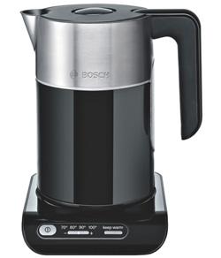 Bosch TWK8613 Wasserkocher Styline / Kunststoff mit Edelstahlapp