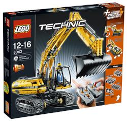 Купить LEGO Техник Экскаватор с мотором 8043 в интернет магазине Время...