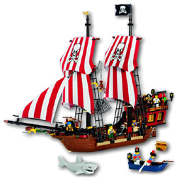 HifiShop24.de LEGO PIRATEN Gro�es Piratenschiff 6243