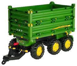 rolly toys 125043 - rollyMulti Trailer JD, Dreiseitenkipper