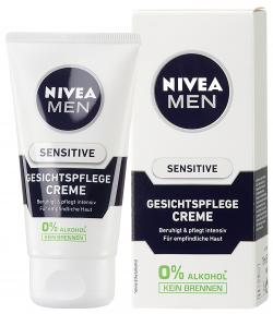 Zum Angebot - Nivea For Men Gesichtspflege Sensitive (9,32 EUR/100 ml)