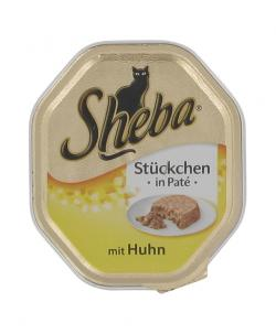 Zum Angebot - Sheba - Stckchen in Men Deluxe - mit Huhn (0,69 EUR/100 g)