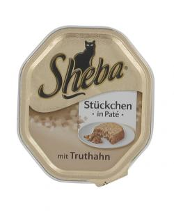 Zum Angebot - Sheba - Stckchen in Men Deluxe - mit Truthahn (0,69 EUR/100 g)