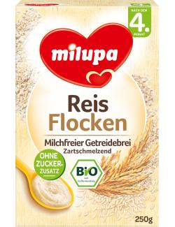 Milupa Bio Reisflocken Getreidebrei
