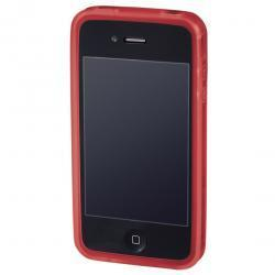 Hama Handy-Cover Edge Protector für Apple iPhone 4, Rot