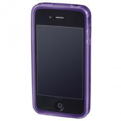 Hama Handy-Cover Edge Protector für Apple iPhone 4, lila