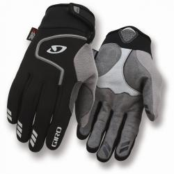 Giro Winter Handschuhe Ambient lang 3-lagiges Soft Shell (L BLACK)