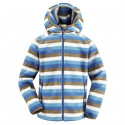 Vaude Kids Chipmunk Hoody Jacket Kinder Kapuzen Fleecejacke (158/164 BLUE)