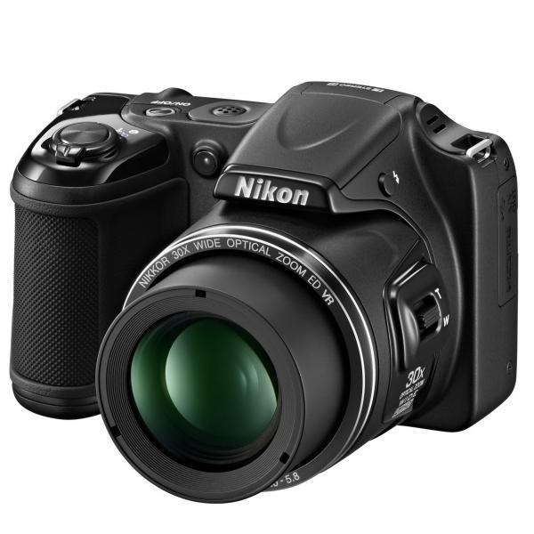 Nikon-Coolpix-L-820-schwarz-digitale-Kompaktkamera-16-Megapixel
