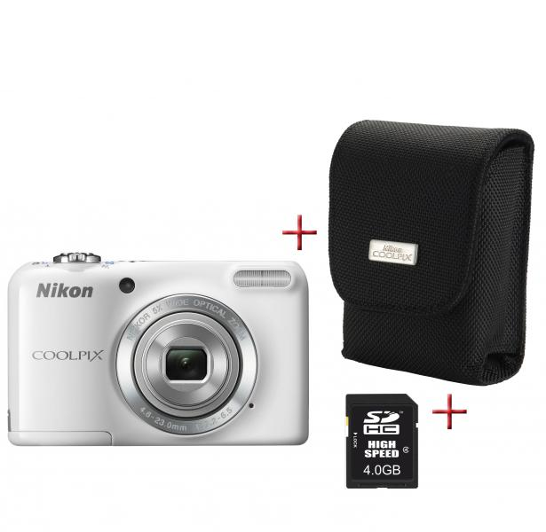 Nikon-Digitalkamera-Coolpix-L-27-weiss-6-7cm-2-7-Display-16MP-5x-Zoom