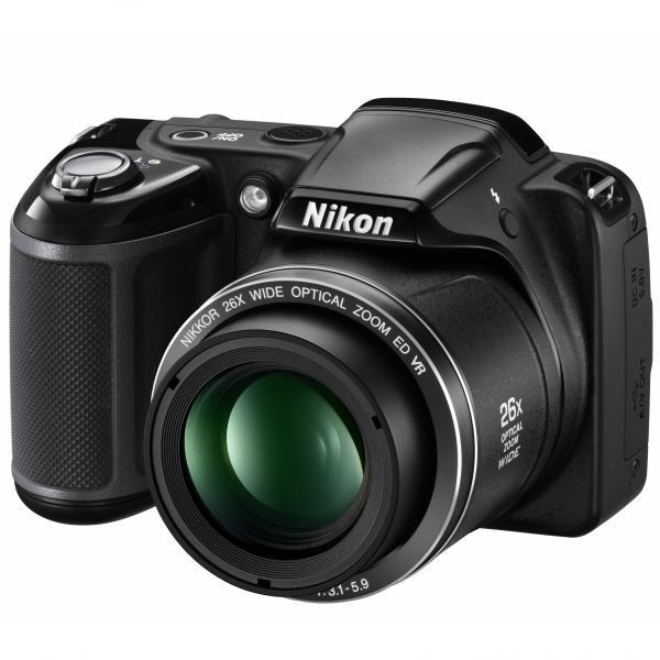 Nikon-Coolpix-L-320-schwarz-digitale-Kompaktkamera