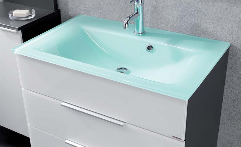 fackelmann waschbecken 86296 stylisches glasbecken in mint. Black Bedroom Furniture Sets. Home Design Ideas