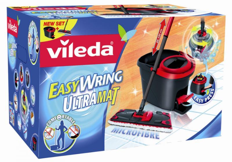 pwz 44373 vileda easy wring ultramat set mit powerschleuder ebay. Black Bedroom Furniture Sets. Home Design Ideas