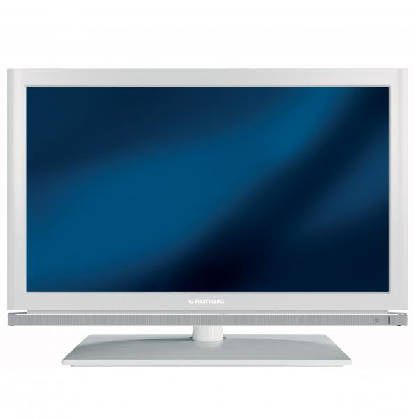grundig led fernseher 22 vle 8320 sg weiss hd triple tuner full hd 100hz ebay. Black Bedroom Furniture Sets. Home Design Ideas