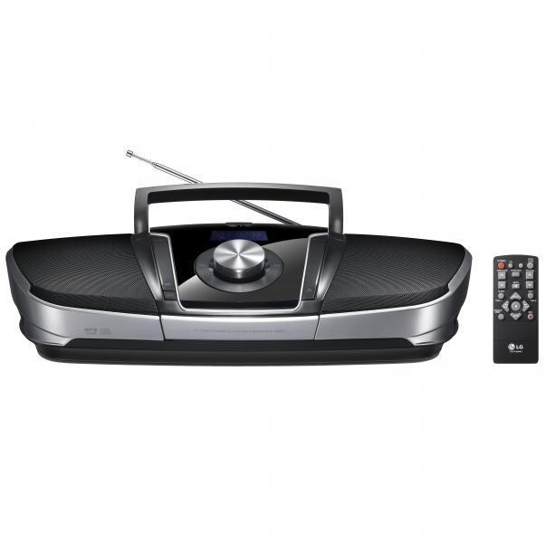 lg sb56 cd radio boombox mit usb anschluss fernsteuerung. Black Bedroom Furniture Sets. Home Design Ideas