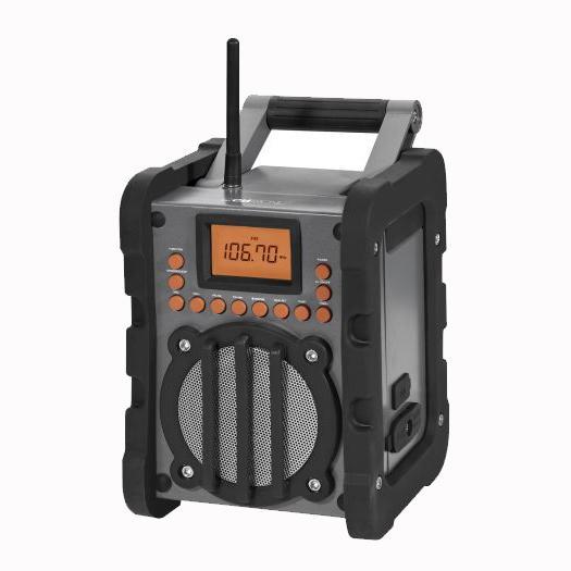 clatronic br 834 robustes baustellen radio sto fest und spritzwassergesch tzt ebay. Black Bedroom Furniture Sets. Home Design Ideas