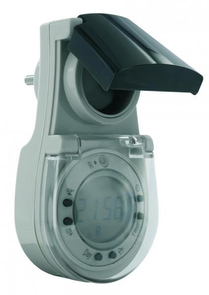 elro te624 zeitschaltuhr mit d mmerungsschalter digitaler timer ebay. Black Bedroom Furniture Sets. Home Design Ideas