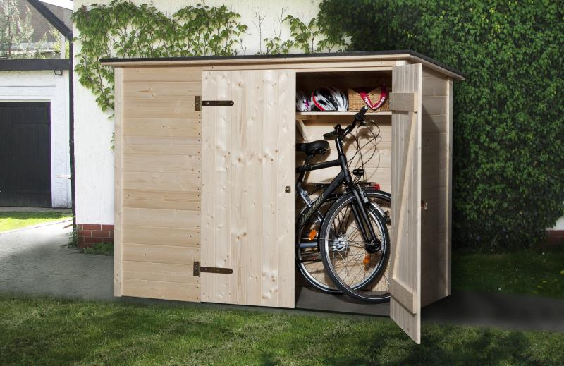 weka bike multi box 19 mm fahrradschuppen ger tehaus. Black Bedroom Furniture Sets. Home Design Ideas