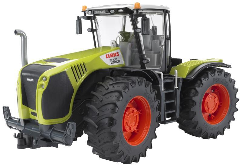 Bruder claas xerion traktor trecker ebay