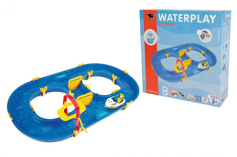 big waterplay rotterdam wasserspiel f r kinder wasserbahn ebay. Black Bedroom Furniture Sets. Home Design Ideas