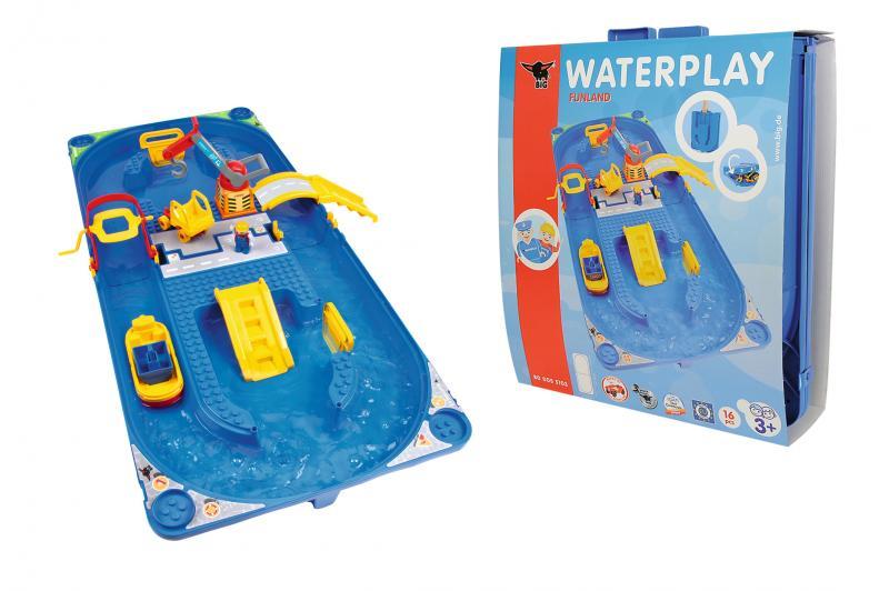 big waterplay funland wasserspiel f r kinder wasserbahn ebay. Black Bedroom Furniture Sets. Home Design Ideas