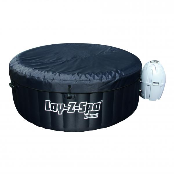 bestway whirlpool lay z spa miami nl pool yakuzi ebay. Black Bedroom Furniture Sets. Home Design Ideas